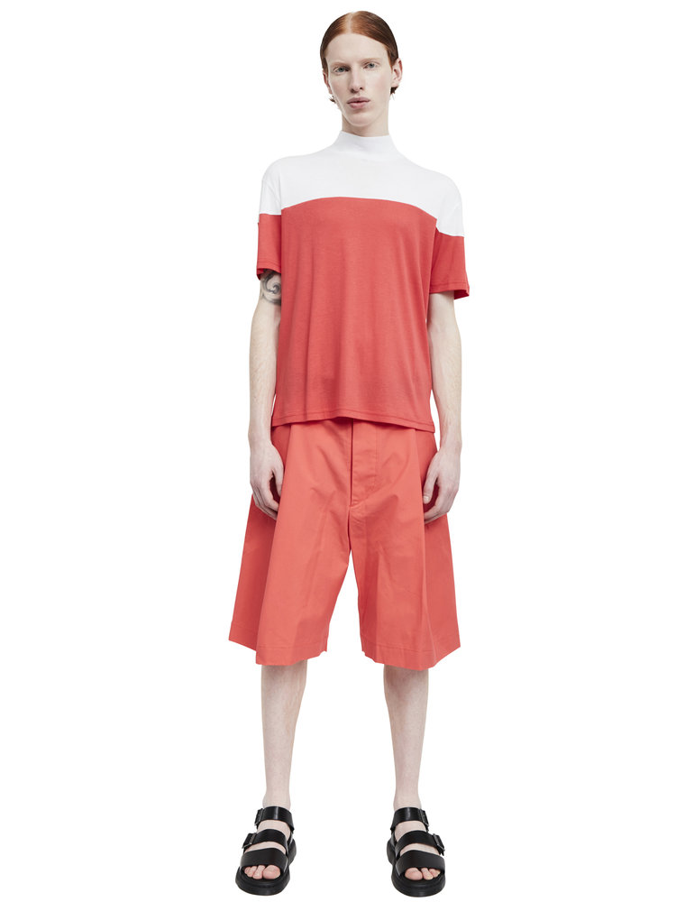 Berthold_high+neck+t-shirt+red_white_ss17.01_front